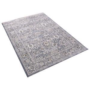 Da Vinci Grey Rectangular Traditional Rug, 200x290 cm