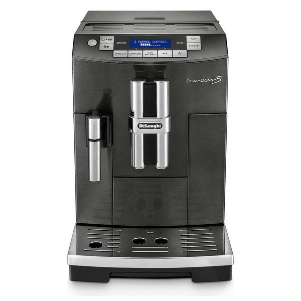 PrimaDonna S Deluxe Automatic Beverage Machine, Black