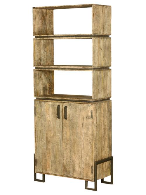 Wooden Bookcase & Bookshelves