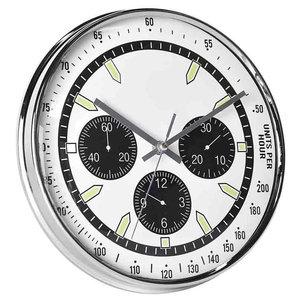 EMDE Montre Wall Clock, White