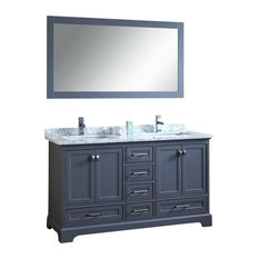 double vanity sink 60 inches. Stufurhome  Newport Gray 60 Inch Double Sink Bathroom Vanity With Mirror Vanities Inch Houzz