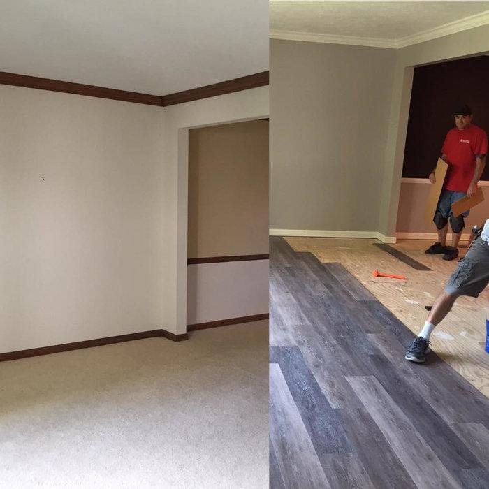Interior New Home Makeover-Carmel