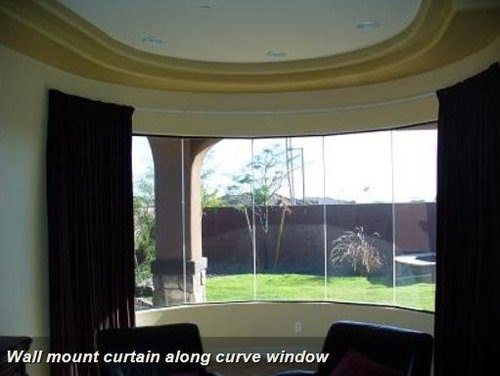 Bendable Curtain Rod For Bay Windows Showers Rv S Room Dividers