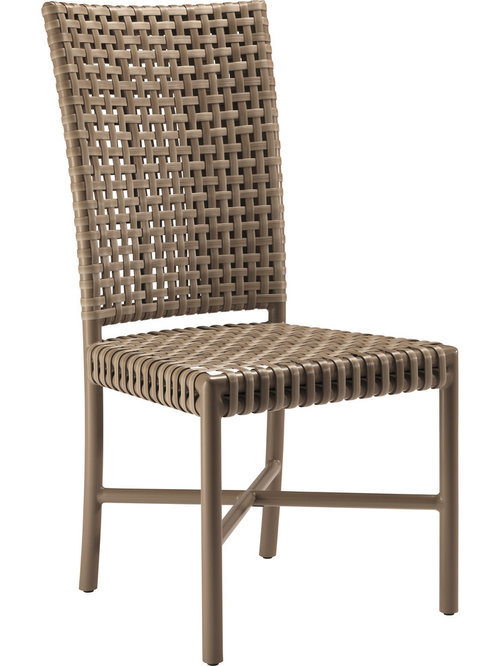 McGuire Furniture   Antalya Outdoor Tall Back Side Chair: AN 71   Outdoor  Lounge Design