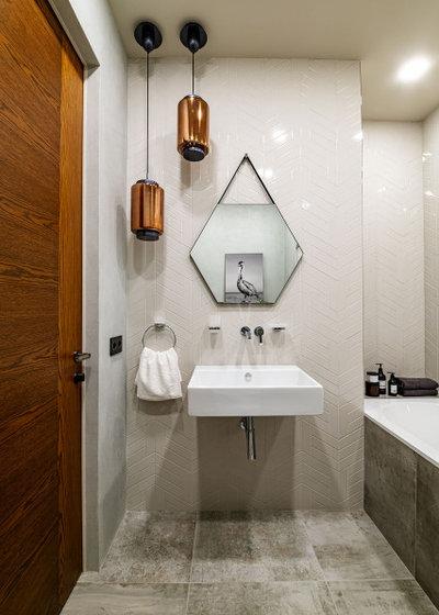 Современный Ванная комната by Наталья Широкова, дизайнер