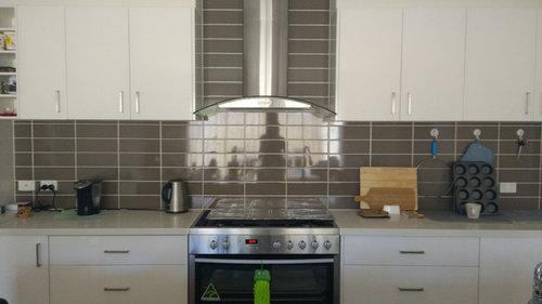 Kitchen Help   What Colour Splashback Over Brown Tiles?