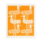 Retro Rooster Swedish Sponge Dishcloth Scandinavian