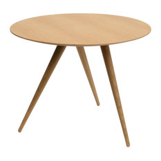Tall Turn Side Table, Natural