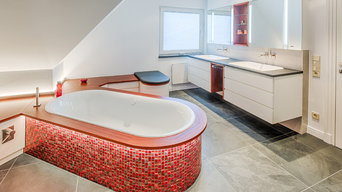 Interior design, bathroom