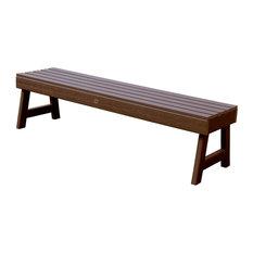 Weatherly Picnic Bench, Weathered Acorn, 5'