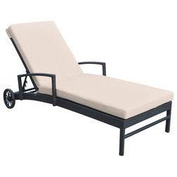 Tropical Outdoor Chaise Lounges by Armen Living