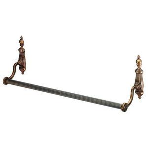 Ondine Bronze Towel Rail, Single
