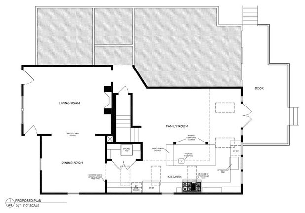 Awesome Floor Plan Kitchen of the Week Setting Up for Some Serious Cooking