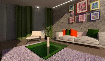 3d визуализация интерьера с картинами