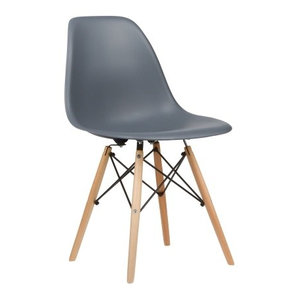 Poly and Bark Vortex Side Chair, Gray
