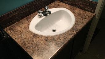 Rosman bathroom modernized