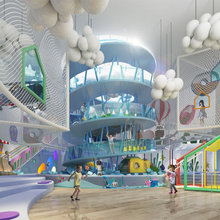 Schools, nurseries Interiors & amusement parks