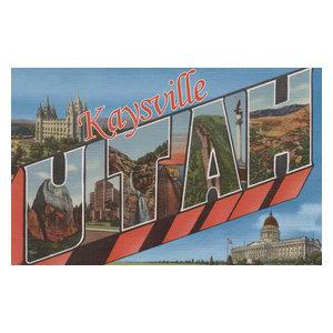 Quot St George Utah Large Letter Scenes Quot Print