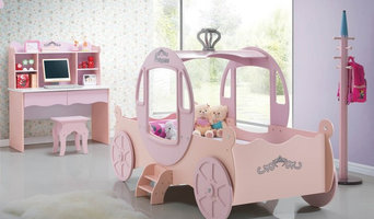 Princess Carriage Bed (pink)