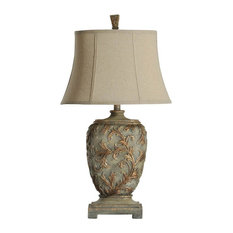 Shop top rated traditional table lamps houzz stylecraft home stylecraft mutli dimensional traditional table lamp table lamps aloadofball Gallery