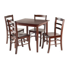 Groveland 5-Piece Square Dining Table With 4 Chairs