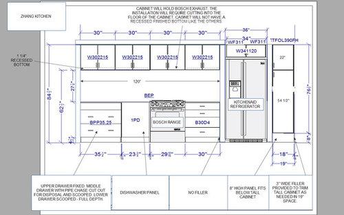 Mismatched Upper Cabinets, Upper Kitchen Cabinet Depth