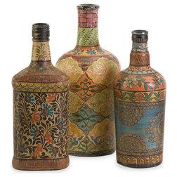 Mediterranean Vases by IMAX Worldwide Home