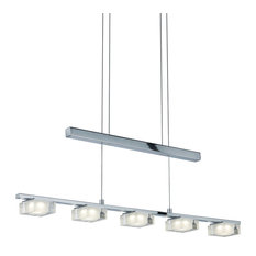 Brooklyn LED Pendant Light, Chrome
