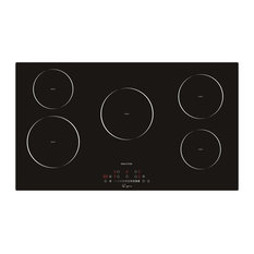"Empava Appliances Inc. - Empava 36"" 5 Booster Burners, Tempered Glass, Electric Induction Cooktop - Cooktops"