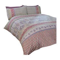 Marrakesh Duvet Cover Set, Multicolour, King
