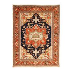 Heriz Emami Rug, Oriental Carpet, Hand-Knotted, 331x257 cm