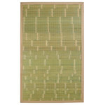Anji Mountain - Anji Mountain Key West Bamboo Area Rug, Rectangular 2'x3' - Bamboo rugs have been a traditional floor covering in the Far East for centuries. They add a touch of organic, practical elegance to any space. Our bamboo rugs are made of the finest quality, sustainably harvested bamboo in the world for supreme durability. Kiln-dried bamboo is machine-planed and sanded for a smooth finish. This classic collection offers a variety of intriguing designs and brilliant colors to choose from.