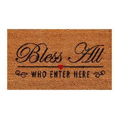 Bless All Doormat