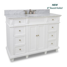 Douglas White Vanity with Preassembled Top and Bowl