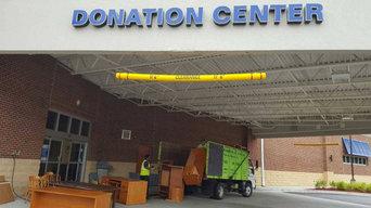Donation Center Item Drop-off