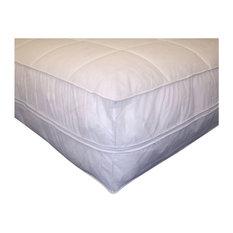 Permafresh Antibacterial Mattress Pad Protector, White, Cal King