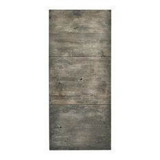 dogberry collections dogberry modern slab barn door silverwood interior doors