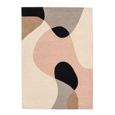 Matrix Arc Wool Rug, Pastel, 120x170 cm