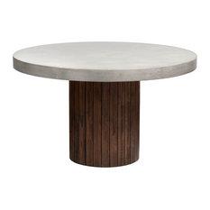 """Sunpan MIXT Duomo Round Dining Table, 51.5"""""""