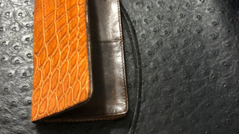 Leather wallets for sale