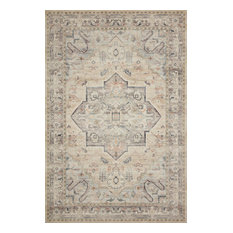 """HTH-07 Multi Ivory Printed Hathaway Area Rug by Loloi II, 9'-0"""" X 12'-0"""""""