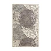 "Graphic Illusions Rug, Gray, 5'3""x7'5"""