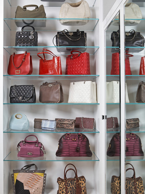 Purse Display Houzz