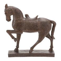 Polystone Horse Decor