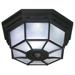 Transitional Outdoor Flush-mount Ceiling Lighting by Buildcom