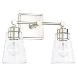 Transitional Bathroom Vanity Lighting by Capital Lighting Fixture Co.