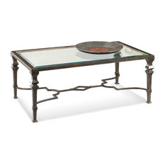 Metal Drum Coffee Table Houzz