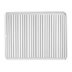 iDesign Lineo Dish Drying Mat, Large, Clear