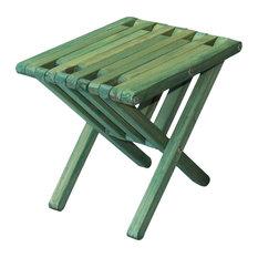 GloDea End Table X36, Alligator Green