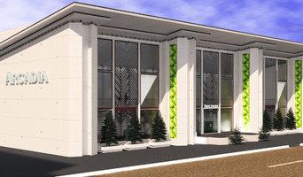 Проект торгового центра Arcadia